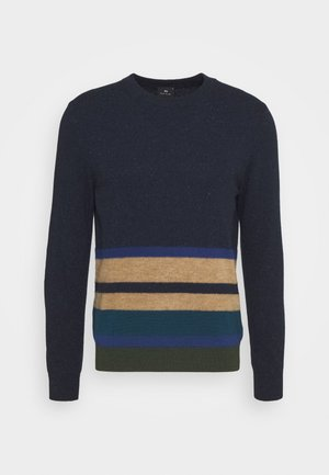 MENS CREW NECK - Strikpullover /Striktrøjer - dark blue