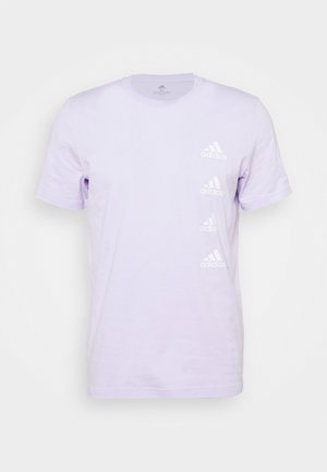Triko spotiskem - purple tint