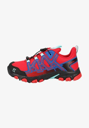 Trekingové boty - red