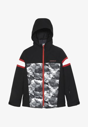 ALIAM JUNIOR - Ski jacket - black