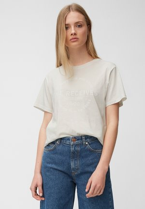 Print T-shirt - multi/scandinavian white