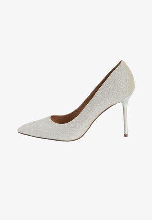 High heels - gunmetal