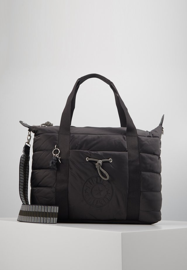 PUFF ART - Torba na zakupy - cold black