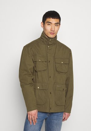 SANDERLING CASUAL - Summer jacket - dark sand