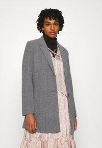 Vero Moda - VMDAFNELISA JACKET - Short coat - dark grey - 0