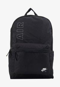 Nike Sportswear - AIR HERITAGE  - Rucksack - black/white - 1
