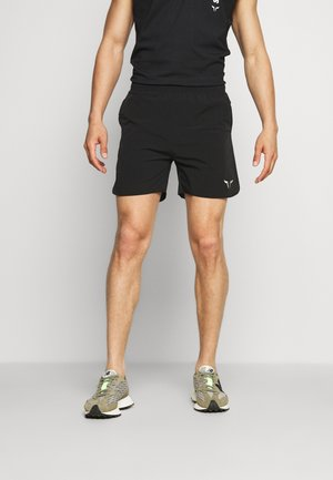 DRY TECH SHORTS - Sports shorts - black