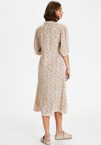 Soaked in Luxury - Shirt dress - whisper white splash print - 2
