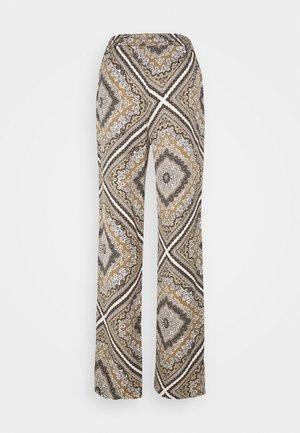 MEDALLION SCARF PANT - Trousers - bone