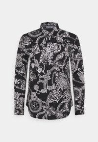 Versace Jeans Couture - PRINT REGALIA BAROQUE - Vapaa-ajan kauluspaita - nero - 0