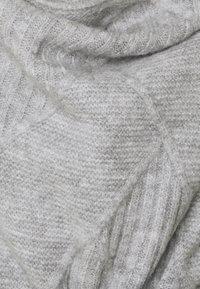 JoJo Maman Bébé - DRAPE MATERNITY & NURSING CARDIGAN - Neuletakki - marl grey - 2