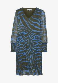 Denim Hunter - Day dress - blue zebra print - 5