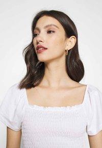 Monki - RIVA  - Print T-shirt - white - 3