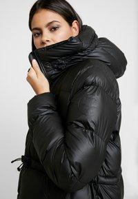 Hunter ORIGINAL - WOMENS ORIGINAL PUFFER COAT - Winter coat - black - 4