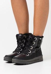 TOM TAILOR - Winter boots - black - 0
