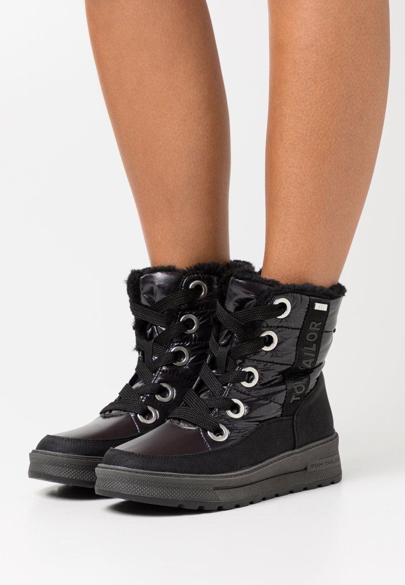 TOM TAILOR - Winter boots - black