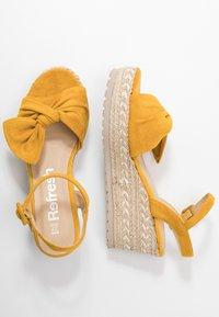 Refresh - Sandały na platformie - panama - 3