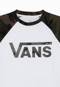 Vans - BY VANS CLASSIC RAGLAN BOYS - Long sleeved top - white - 3