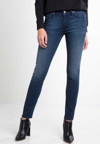 Lee - SCARLETT - Jeansy Skinny Fit - mottled blue - 0