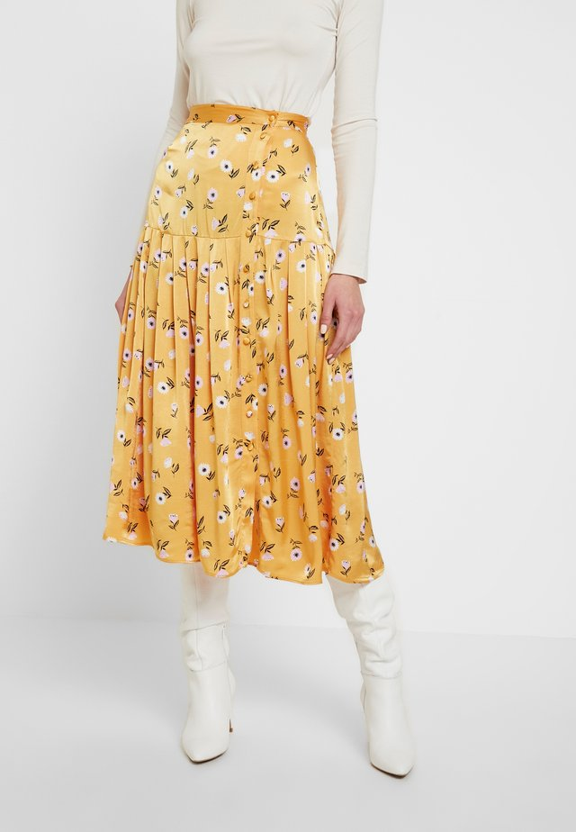 SARA SKIRT - A-line skjørt - orange