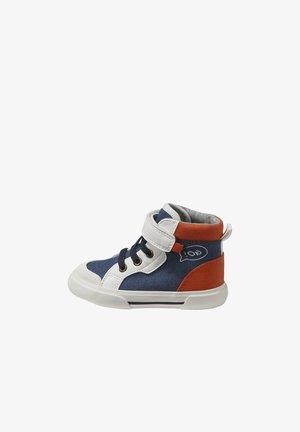 First shoes - weiß/blau/orange