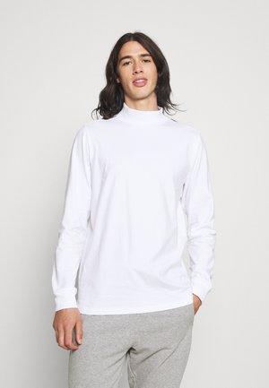 PHIL HIGH NECK - Långärmad tröja - white