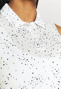 Nike Golf - DRY DOT - Polo shirt - white/black - 3