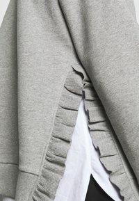 Bruuns Bazaar - RUBINE - Sweatshirt - light grey melange - 6