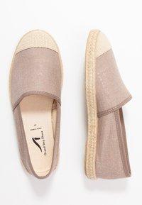 Grand Step Shoes - EVITA PLAIN - Espadrilles - metallic rose - 3