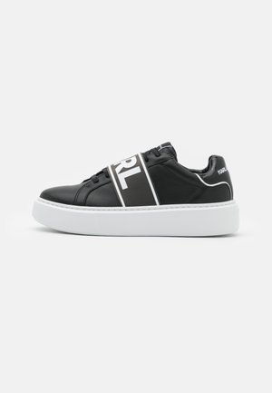 MAXI BAND LACE - Sneakersy niskie - black