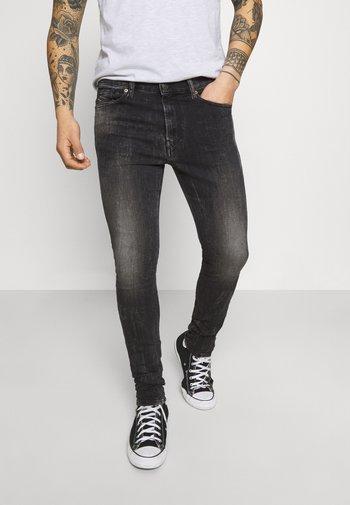 AMNY - Jeans Skinny Fit - washed black