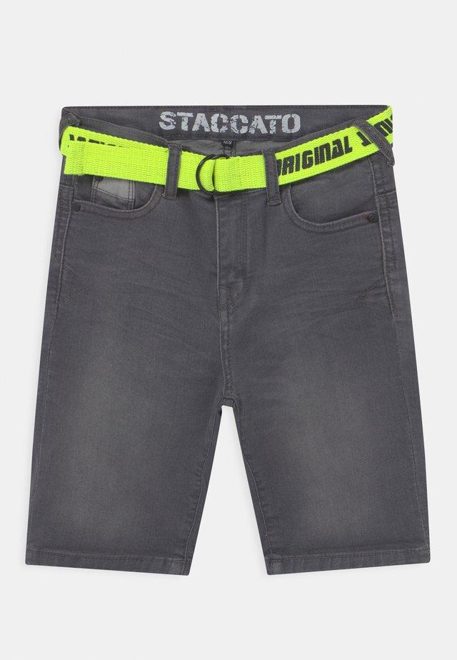 KID - Shorts di jeans - grey denim