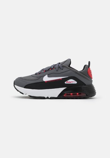 AIR MAX 2090 UNISEX - Sneakers basse - iron grey/white/black/universiry red