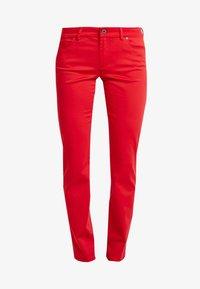 MID WAIST - Pantalones - fresh rose hip