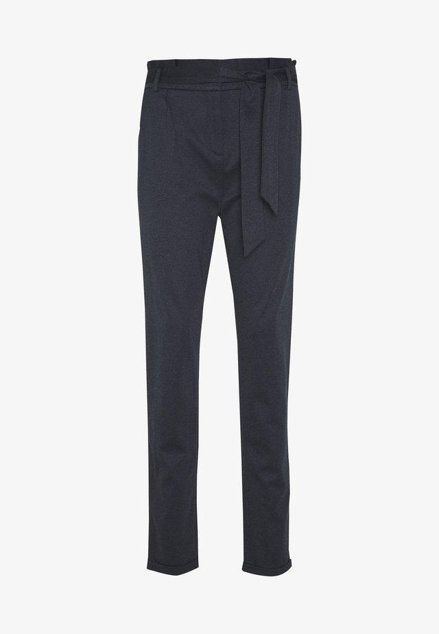 PAPERBAG - Pantalon classique - navy