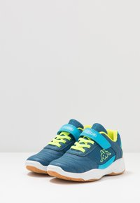 Kappa - DROUM II UNISEX - Sports shoes - blue/yellow - 3
