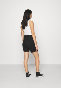 NA-KD - DRAWSTRING SHORTS - Shorts - black - 2