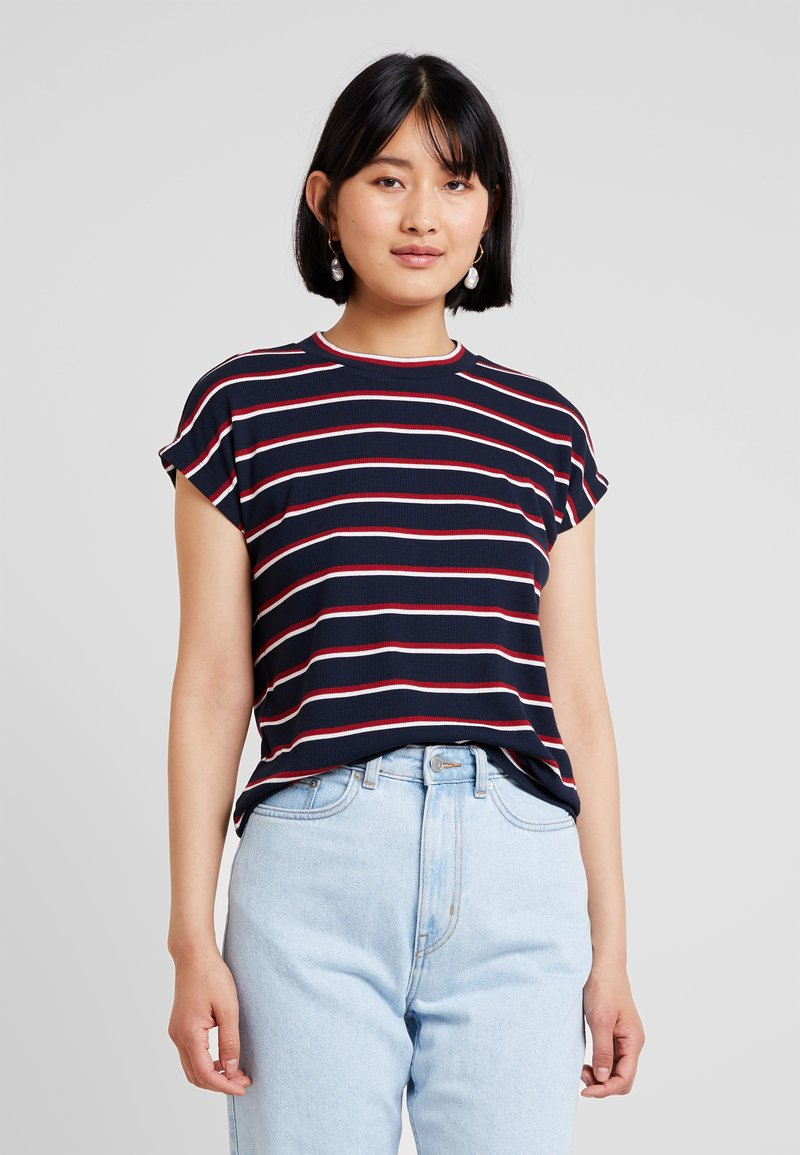 Mavi - STRIPE - Print T-shirt - dress blue