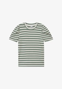 Lindex - TEENS LOLA - Print T-shirt - light dusty green - 2