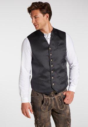 PEGASUS - Waistcoat - schwarz