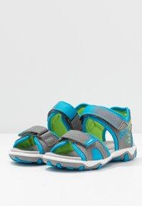 Superfit - MIKE 3.0 - Chodecké sandály - grau - 3