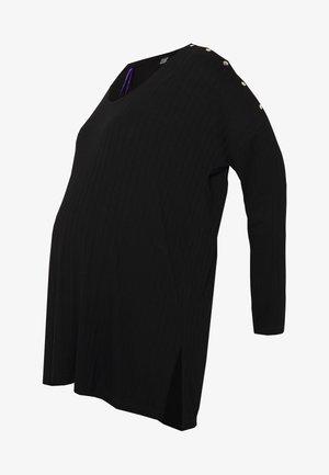 LORELEI NURSING - Long sleeved top - black