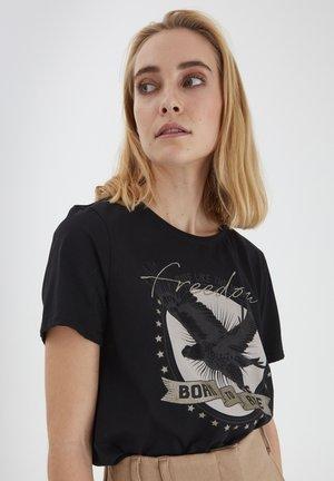 BXSILLI - Camiseta estampada - black