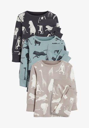 3 PACK - Pyžamová sada - grey