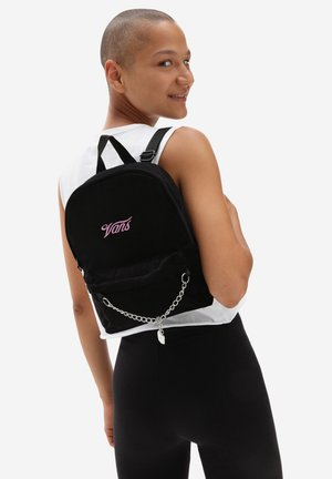 WM TOGETHER FOREVER MINI BACKPACK - Rucksack - black