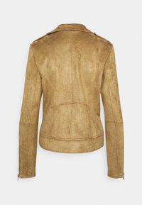 Vila - VIFADDY JACKET - Faux leather jacket - butternut - 1
