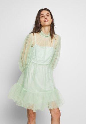 MELANY MINI DRESS - Cocktail dress / Party dress - aqua