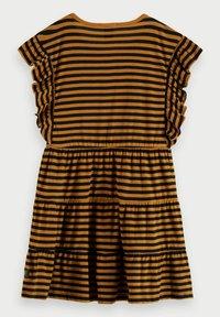 Scotch & Soda - Jersey dress - brown - 1