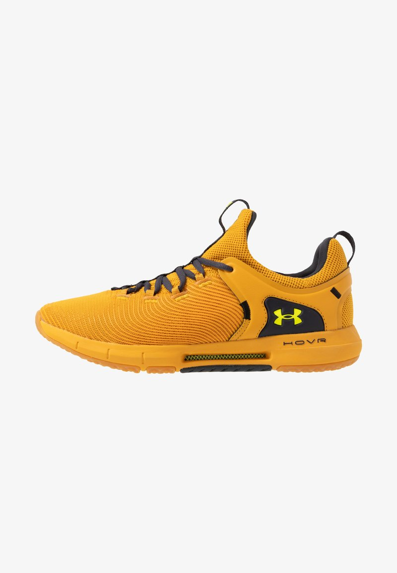 Under Armour - HOVR RISE 2 - Sports shoes - golden yellow/yellow ray