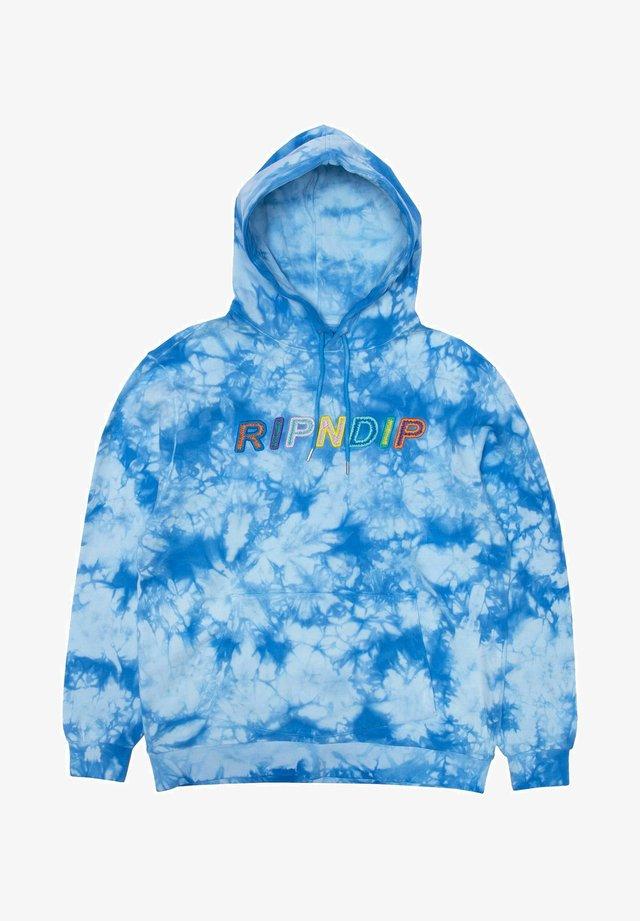 Hoodie - blau